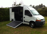 Loue camion chevaux Renault Master (68) 90€
